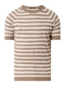 T-shirt Windsor z krótkim rękawem z lnu