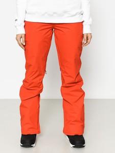 Pomarańczowe spodnie sportowe Burton