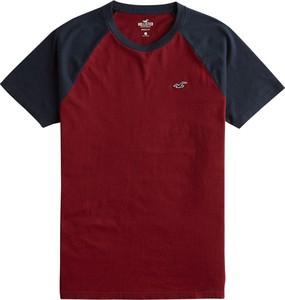 T-shirt Hollister Co. z krótkim rękawem z bawełny