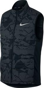 Czarna kamizelka Nike w sportowym stylu