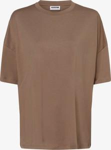 Bluzka Noisy May w stylu casual z okrągłym dekoltem z krótkim rękawem