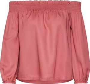Różowa bluzka Only w stylu casual