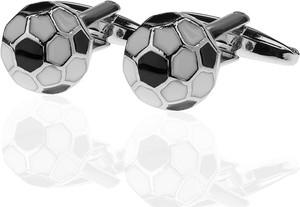 Em Men`s Accessories Spinki do mankietów tematyczne piłka nożna EM 36