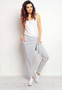 Spodnie Infinite You z bawełny w stylu casual