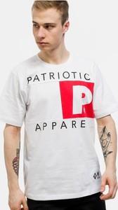 T-shirt Patriotic z krótkim rękawem z bawełny