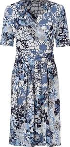 Sukienka Olsen w stylu boho z krótkim rękawem maxi