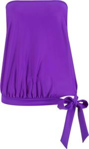 Fioletowy strój kąpielowy bonprix bpc selection