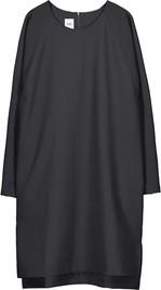 Sukienka Makia oversize z okrągłym dekoltem z długim rękawem