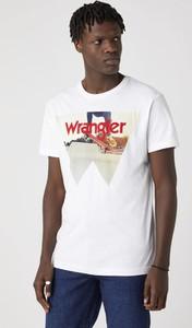 T-shirt Wrangler z nadrukiem