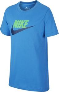 Koszulka dziecięca Nike z bawełny z krótkim rękawem dla chłopców