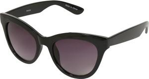 Czarne okulary damskie Pieces