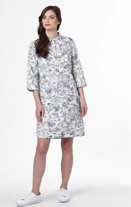 Sukienka Marie Lund mini z kołnierzykiem