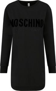 Czarna bluza Moschino Underwear