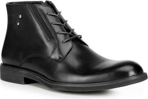Czarne buty zimowe Wittchen