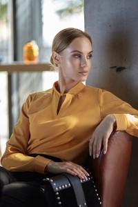 Bluzka Style w stylu casual z tkaniny