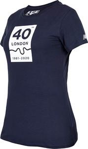 Bluzka New Balance z krótkim rękawem w sportowym stylu