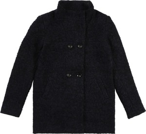Granatowy płaszcz dziecięcy Kids ONLY