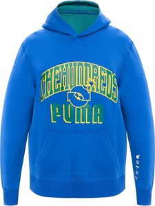 Niebieska bluza Puma w sportowym stylu