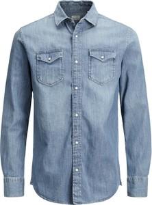 Koszula Jack & Jones z jeansu