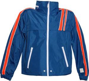Niebieska kurtka Diesel Clothes w sportowym stylu