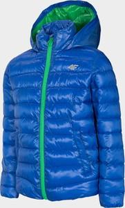 Niebieska kurtka dziecięca 4F