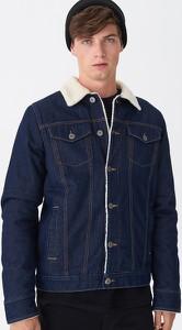 Niebieska kurtka House z jeansu