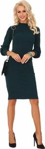 Czarna sukienka MERRIBEL midi ołówkowa