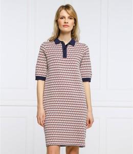 Sukienka Tommy Hilfiger w stylu casual z długim rękawem prosta