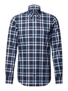 Niebieska koszula Tommy Hilfiger z długim rękawem w stylu casual