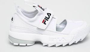 Sneakersy Fila na rzepy
