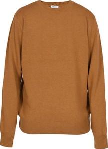 Pomarańczowy sweter Veva z wełny