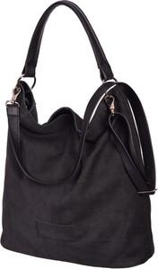 Czarna torebka Designs Fashion w wakacyjnym stylu na ramię