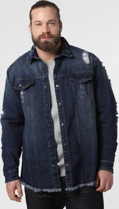 Niebieska kurtka Urbn Saint z jeansu