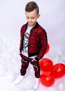 Czerwona kurtka dziecięca Kids By Voga