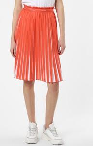 Czerwona spódnica Calvin Klein midi