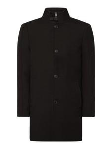 Czarny płaszcz męski McNeal