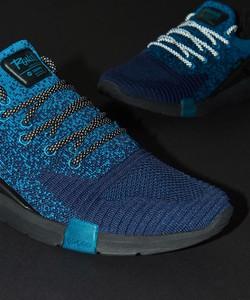 Cropp - Sneakersy Ronin z elementami odblaskowymi - Niebieski