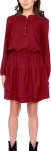 Czerwona sukienka Lanti