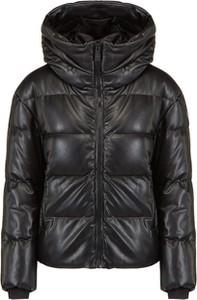 Czarna kurtka Fusalp krótka w stylu casual z tkaniny
