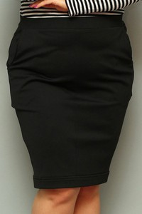Spódnica KARKO z dzianiny midi