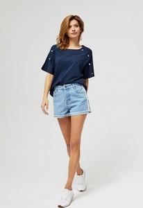 Szorty Moodo w stylu casual z jeansu