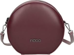 Czerwona torebka NOBO w stylu casual matowa na ramię