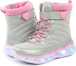 Buty dziecięce zimowe Skechers