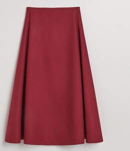 Czerwona spódnica Reserved midi z wełny