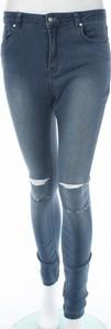 Niebieskie jeansy Missguided