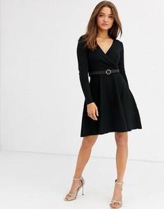Czarna sukienka Lipsy mini
