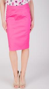 Różowa spódnica QUIOSQUE midi