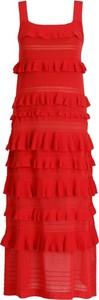 Sukienka Twinset maxi w stylu casual bez rękawów