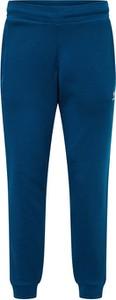 Granatowe spodnie sportowe Adidas Originals z dresówki