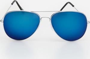 House - Okulary przeciwsłoneczne typu aviator - Niebieski